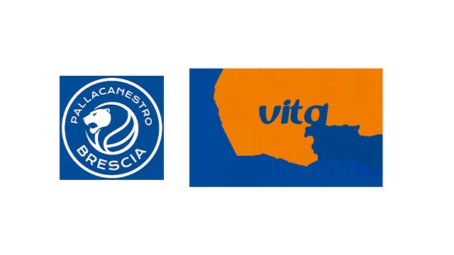 Vitality è orgogliosa di essere sponsor ufficiale della pallacanestro Brescia