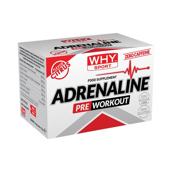 Adrenaline preworkout - 10 buste