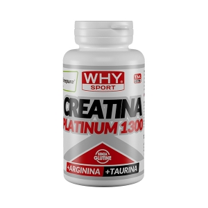 Creatina platinum 1300 - 120 compresse