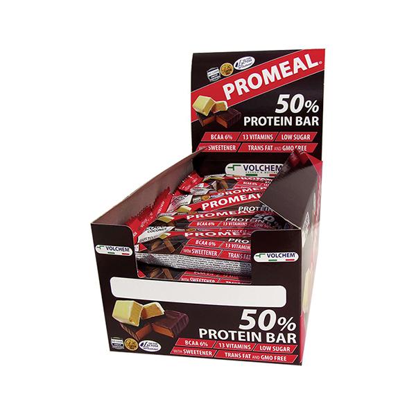 Promeal® protein 50% - box 20 barrette da 60 gr