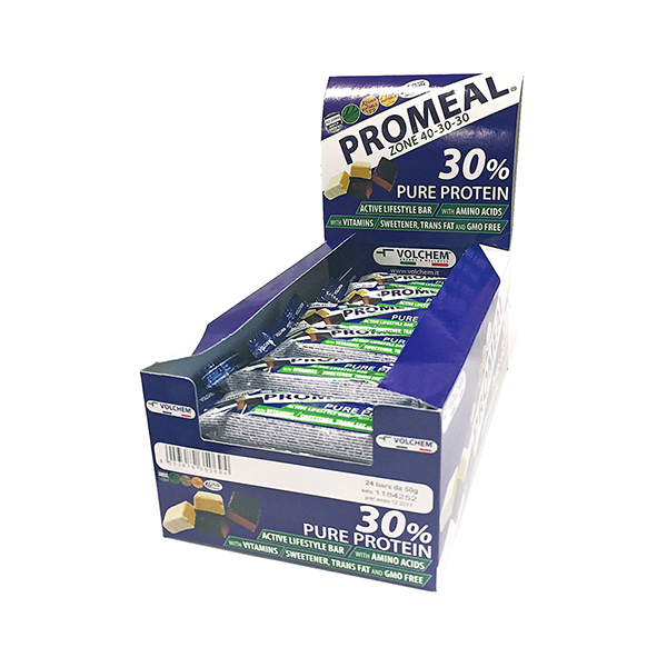 Promeal® zone 40/30/30 - box 24 barrette da 50 gr