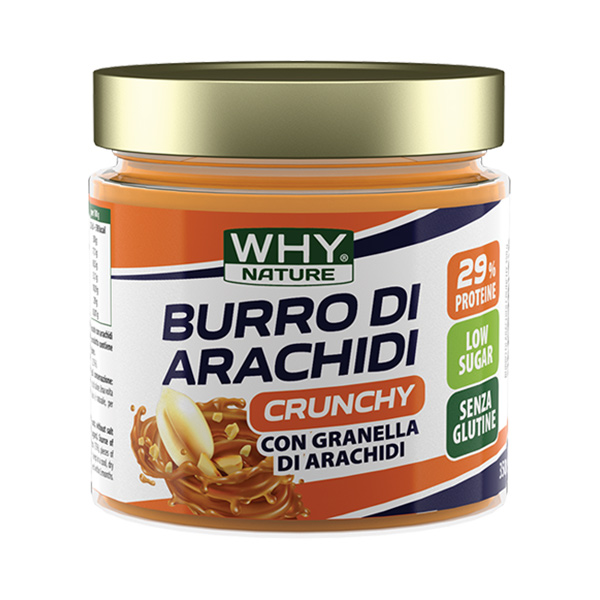 Burro di arachidi crunchy - 350 gr