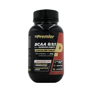 Bcaa 8:1:1 superior purity - 200 compresse