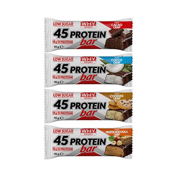 45 protein bar - barretta da 45 gr